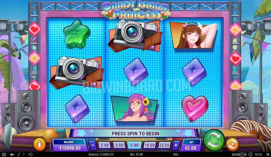 Candy Island Princess slot