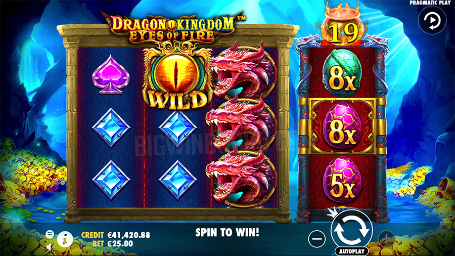 dragon kingdom eyes fire slot