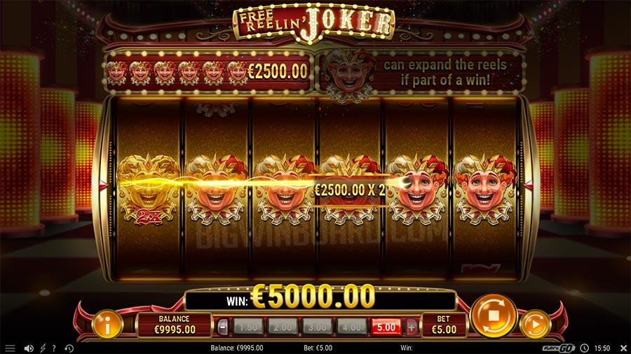 Free Reelin' Joker slot