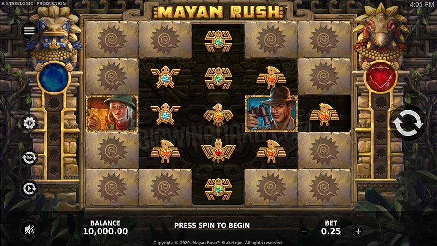 mayan rush slot