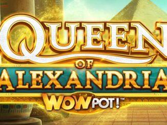 queen of alexandria wowpot slot