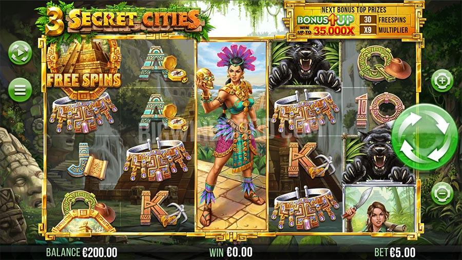 3 secret cities slot
