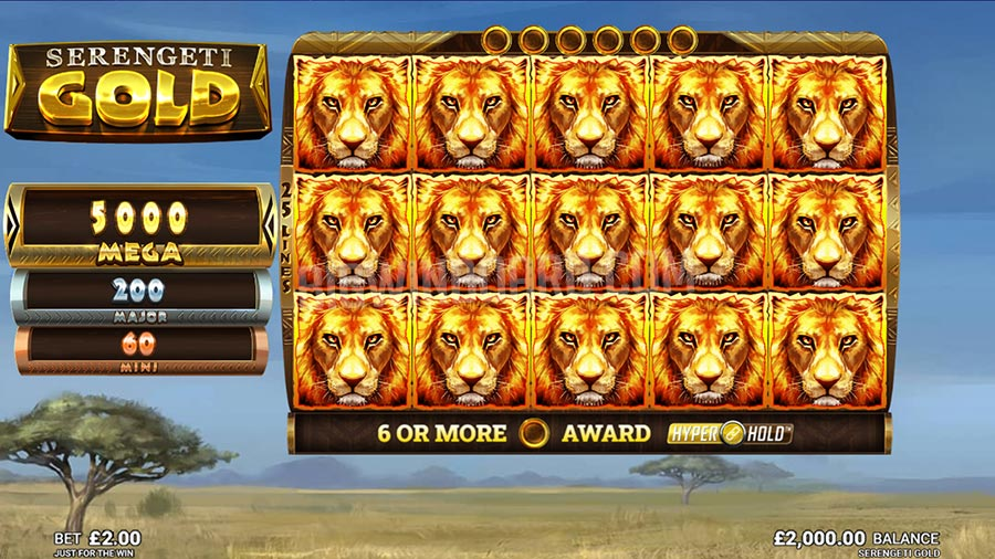 Serengeti Gold slot