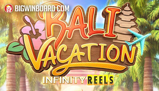 bali vacation infinity reels slot