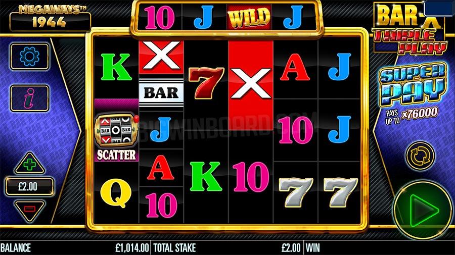 Bar-X Triple Play Megaways