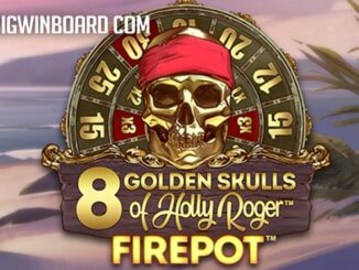 golden skulls holly roger megaways