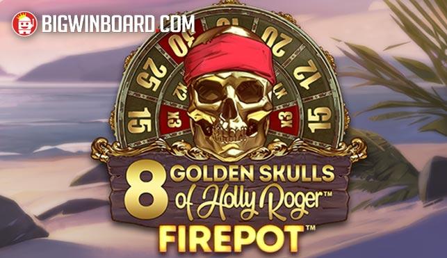 golden skulls holly roger megaways