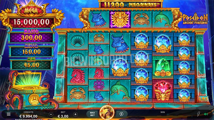 Poseidon Ancient Fortunes Megaways slot