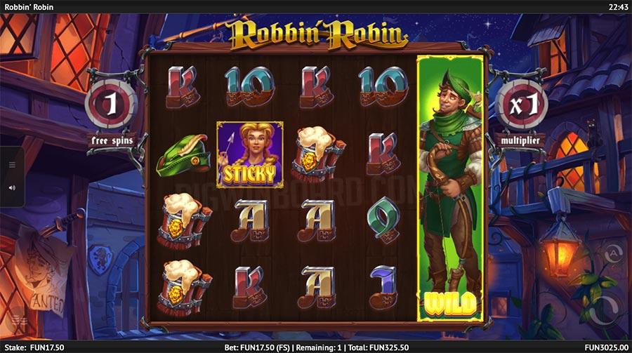 robin robbin slot
