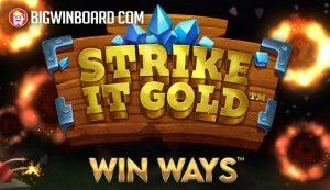 Strike It Gold Win Ways slot