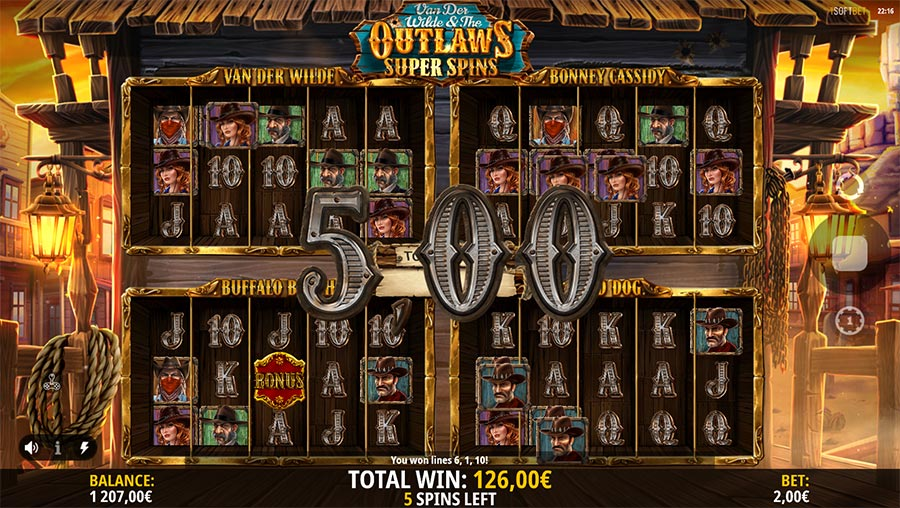 Van Der Wilde & The Outlaws slot