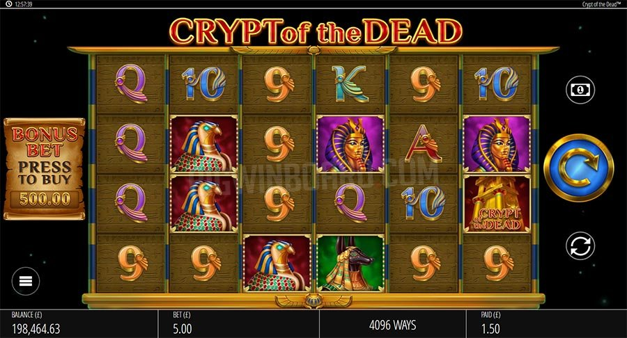 Crypt of the Dead slot