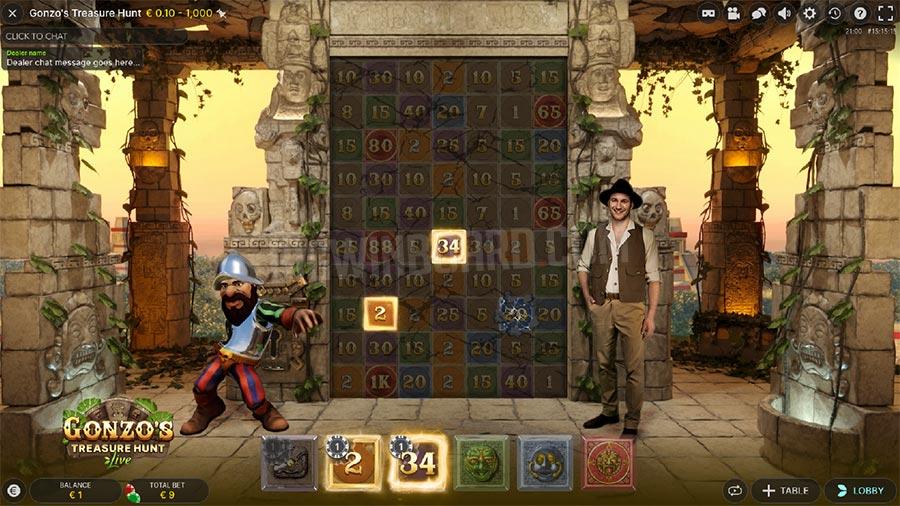 gonzos treasure hunt