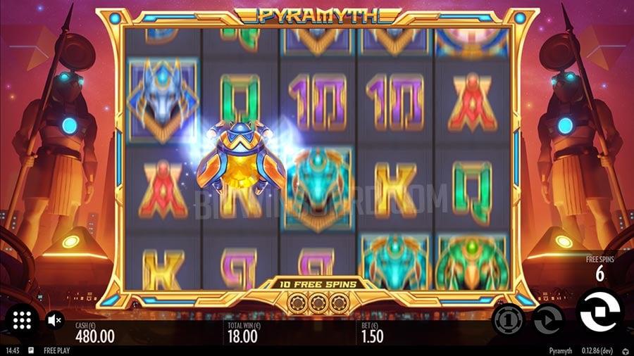 Pyramyth slot