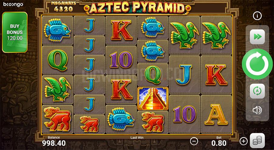 Aztec Pyramid Megaways slot