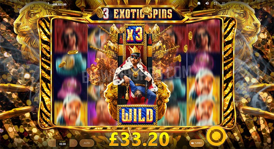 Joe Exotic slot