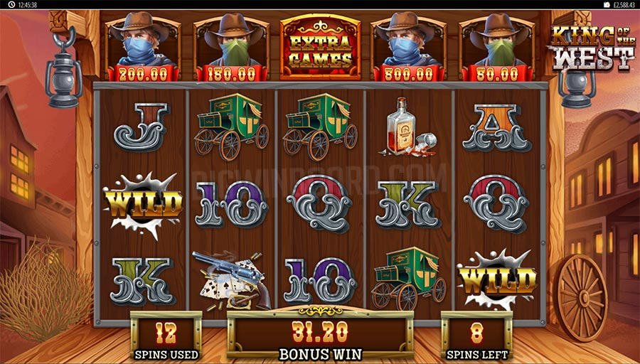 king of the west slot