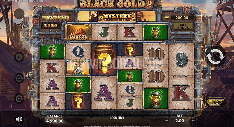 Black Gold 2 Megaways slot