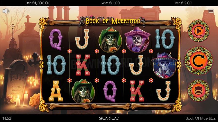 Book of Muertitos slot