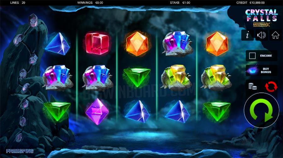 Crystal Falls Multimax slot