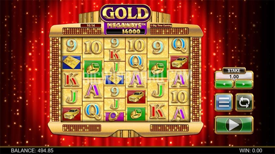 Gold Megaways slot
