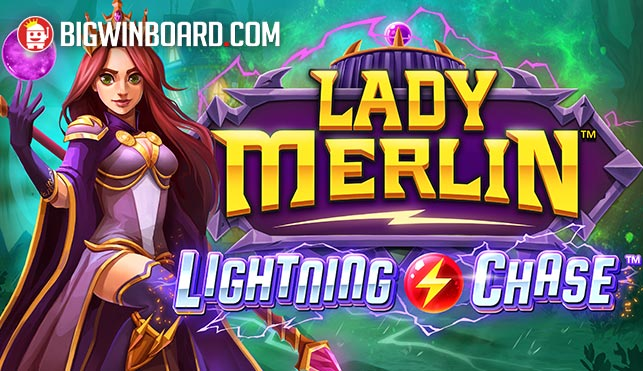 Lady Merlin Lightning Chase slot