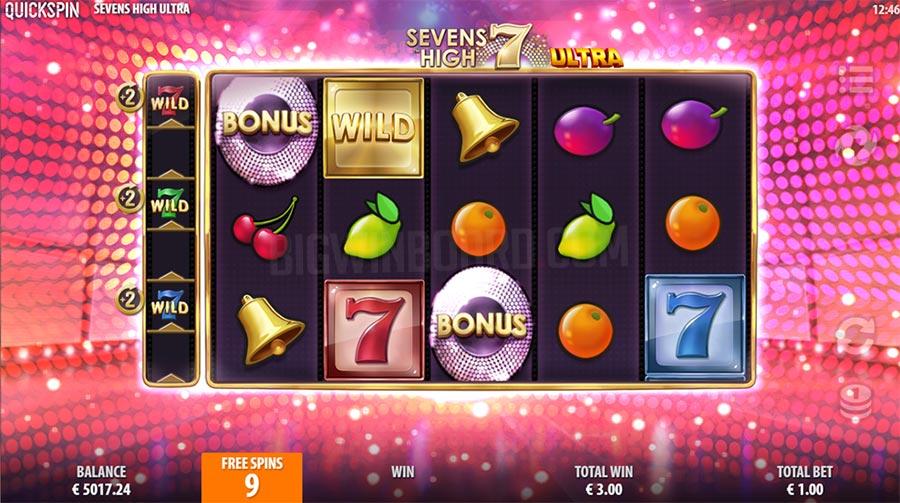 Sevens High Ultra slot