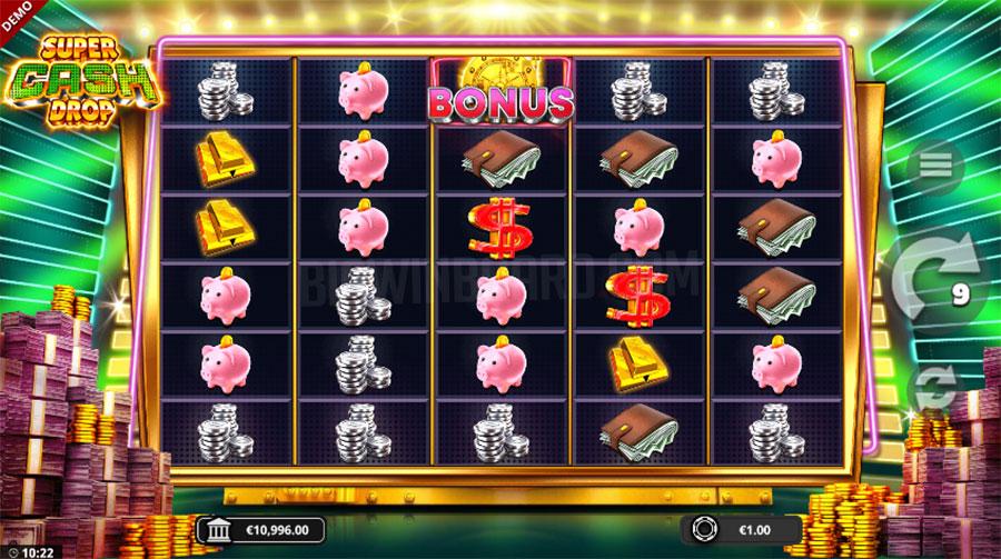 Super Cash Drop slot
