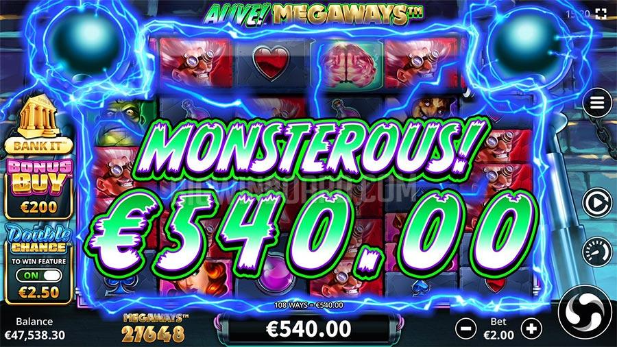 Alive! Megaways slot