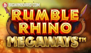 Rumble Rhino Megaways slot