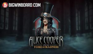 alice cooper tome of madness slot