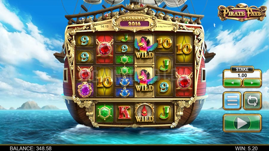 Pirate Pays Megaways slot