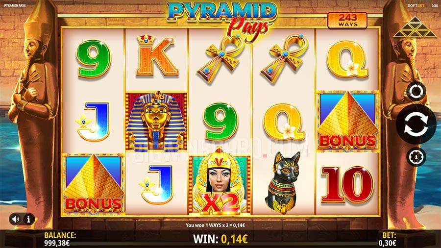 Pyramid Pays slot