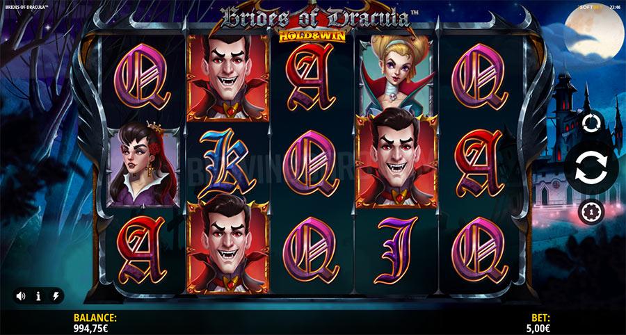 Brides of Dracula Hold & Win slot
