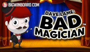 Dave Lame Bad Magician slot
