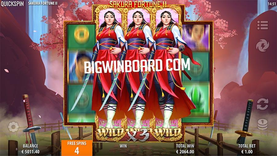 sakura fortune 2 slot