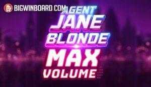Agent Jane Blonde Max Volume slot
